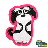 Alvin the Shih Tzu - Felt Dog - Iron On or Sew On Patch -