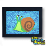 Snail - Felt Animal - Kid's Room Decor