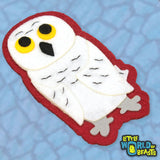 Snowy Owl - Iron on/Sew On Patch - Little World of Beasts