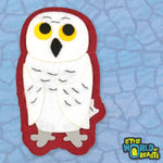 Felt Animal Patch - Snowy Owl