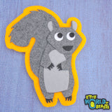 Handmade Squirrel Patch