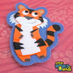Tiger Felt Animal Patch