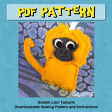 Felt Animal Ornament Pattern
