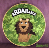 Squshies - Aroarable - Lion Hoop Art