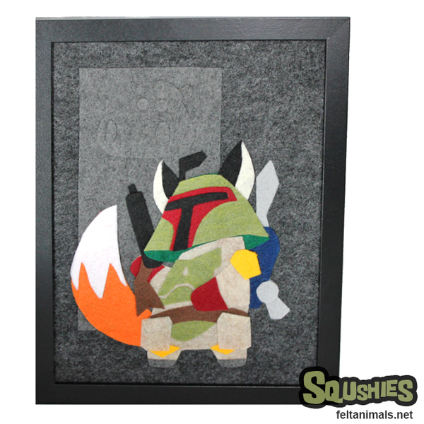 Bounty Hunter Scum - Felt Animal Illustration - The Squshies