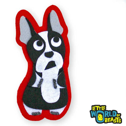 Lucy the Boston Terrier Patch