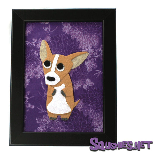 Habanero the Chihuahua - Framed