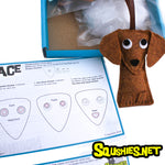 Dachshund - DIY Felt Ornament Sewing Kit
