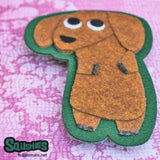 Squshies - Dachshund Felt Patch