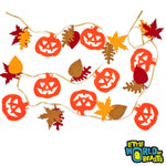 Assorted Autumn Shapes - 30 Pre-cut Shapes