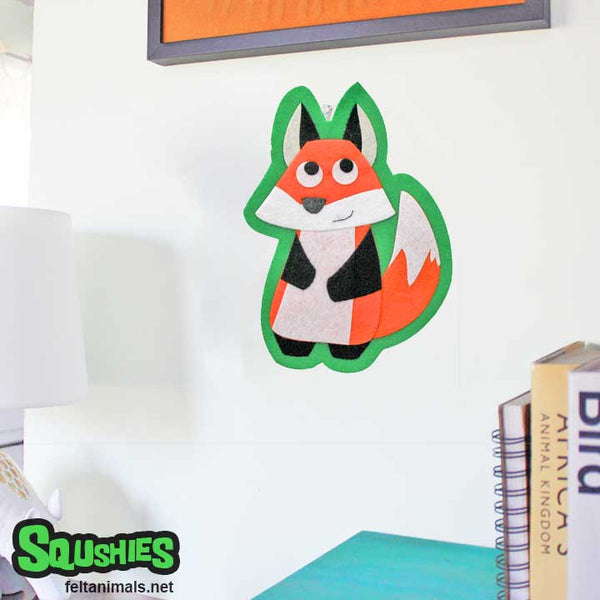 Wall Art - Fox - Kids Room Woodland Decor