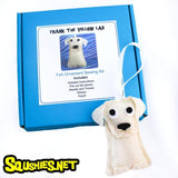 Yellow Lab - DIY Felt Ornament Sewing Kit