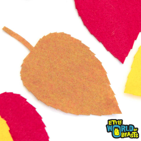 Felt Leaf Shape - Laser Cut for Craft Projects