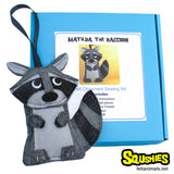 Raccoon Felt Animal Sewing Kit