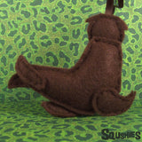 Sea Lion Ornament - Back