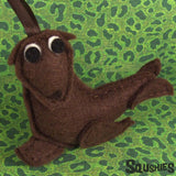 Felt Animal Ornament - Sea Lion