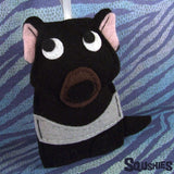 Tasmanian Devil - Felt Animal Ornament