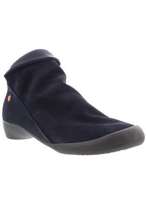 Softinos Farah - Navy Nubuck Smooth Combi