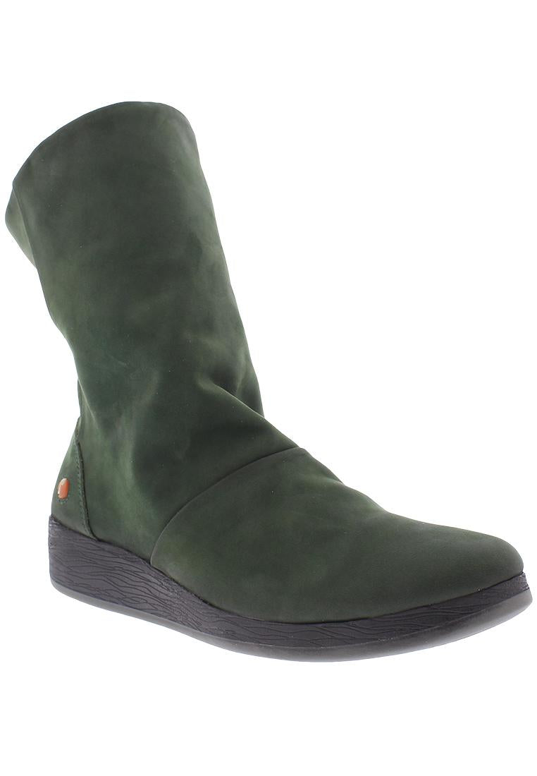 Softinos Ann - Green Nubuck