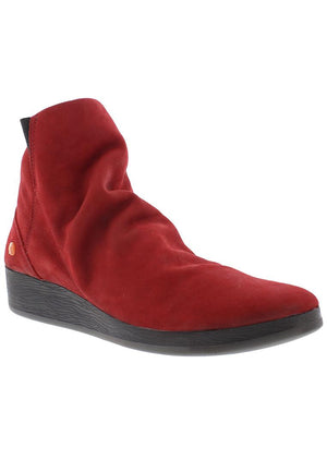 Softinos Ayo - Red Nubuck