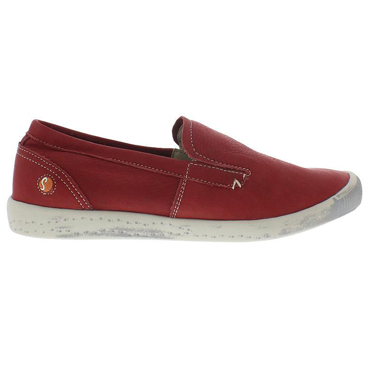 all about me, softinos, ita, red shoe, flat shoe, happy feet, memory foam, portugal, casual shoes, comfort shoes, washed leather, soft leather, portuguese shoes, ballerina flat, slip on shoe