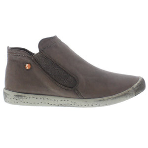 softinos, inge, brown shoe, flat boot, sneaker boot, happy feet, memory foam, portugal, casual shoes, comfort shoes, washed leather, soft leather, portuguese shoe