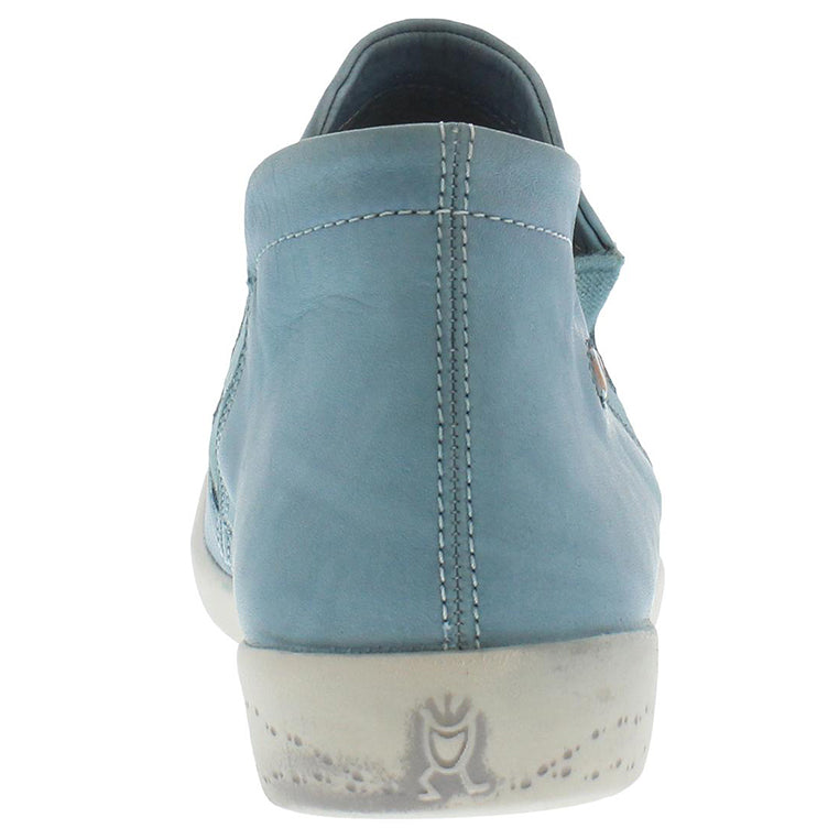 softinos, inge, blue shoe, flat boot, sneaker boot, happy feet, memory foam, portugal, casual shoes, comfort shoes, washed leather, soft leather, portuguese shoe, pastel blue