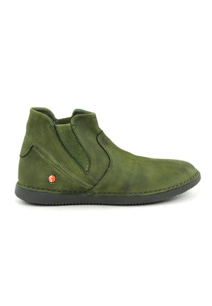 Softinos Tep - Forest Green Washed Leather