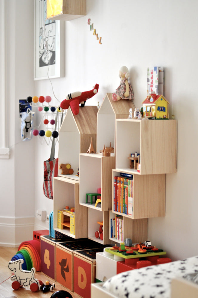 Home decor weedecor for Kids room shelves