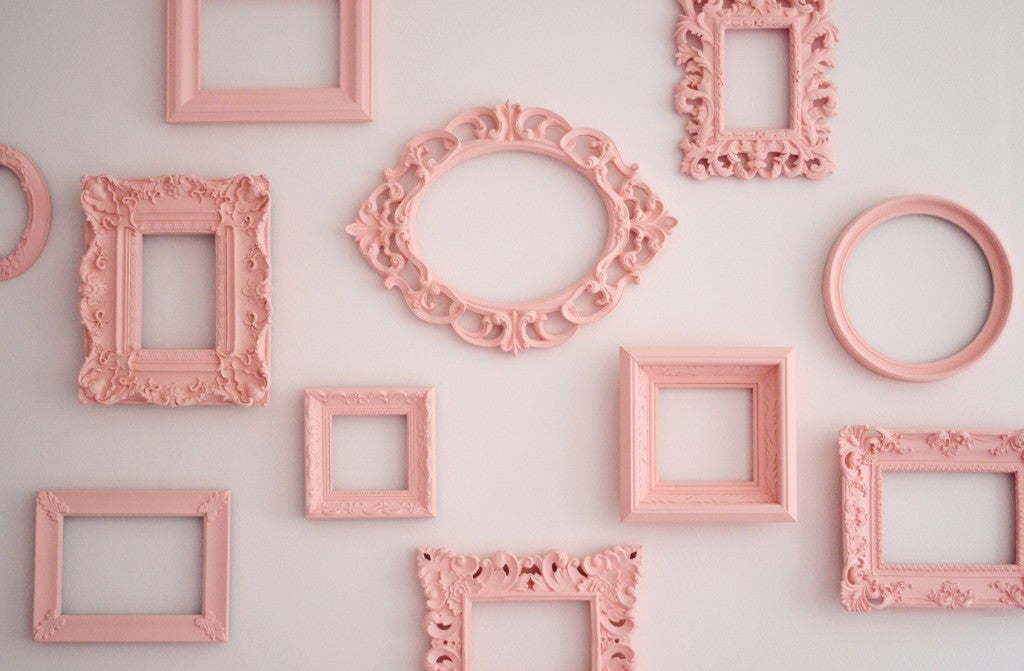 Antique Picture Frames Create Stunning Wall Candy
