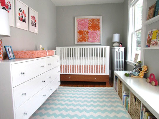 chevron.nursery.rug