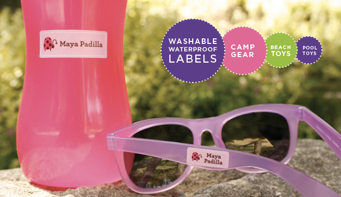 camp labels. cute personalized labels for kids.c