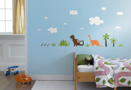 weeDECOR dinosaur wall decals