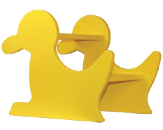 A Yellow Duck Step Stool for Your Kid's Bathroom