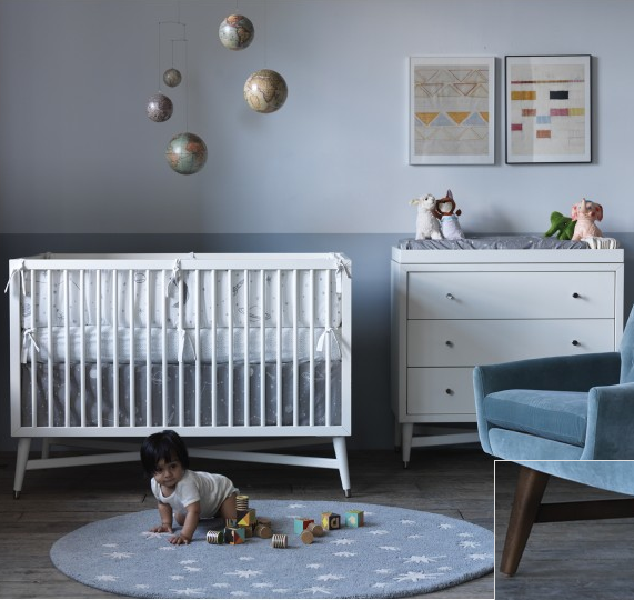 Dwell Studio's New Space Themed Baby Bedding