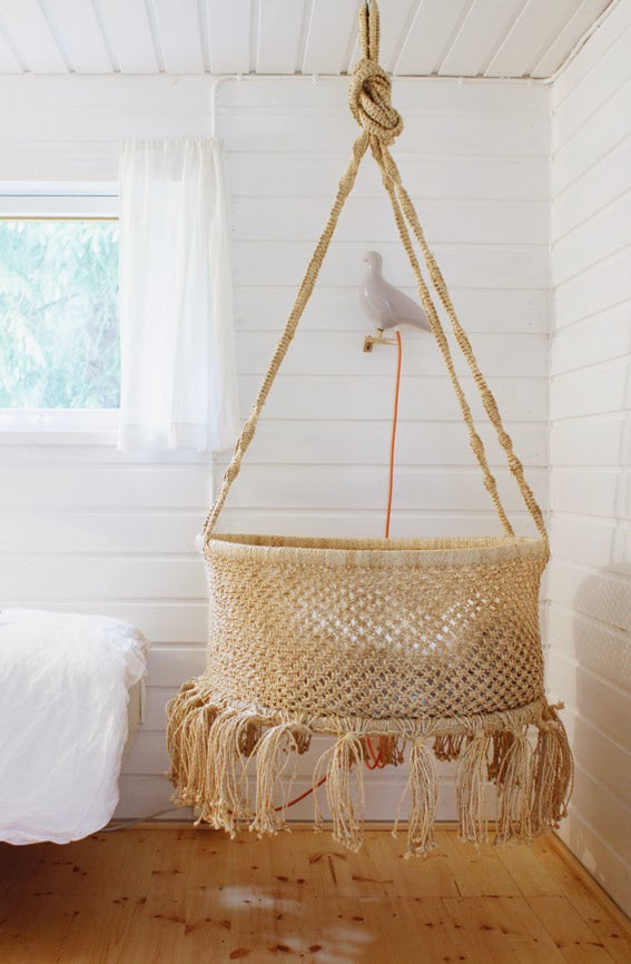 Modern Macramé Nurseries – weeDECOR
