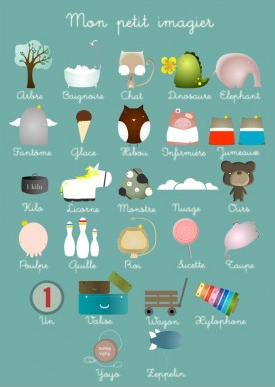French Language Poster for Kids