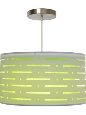 Green Pendant Nursery Light from Rosenberry Rooms