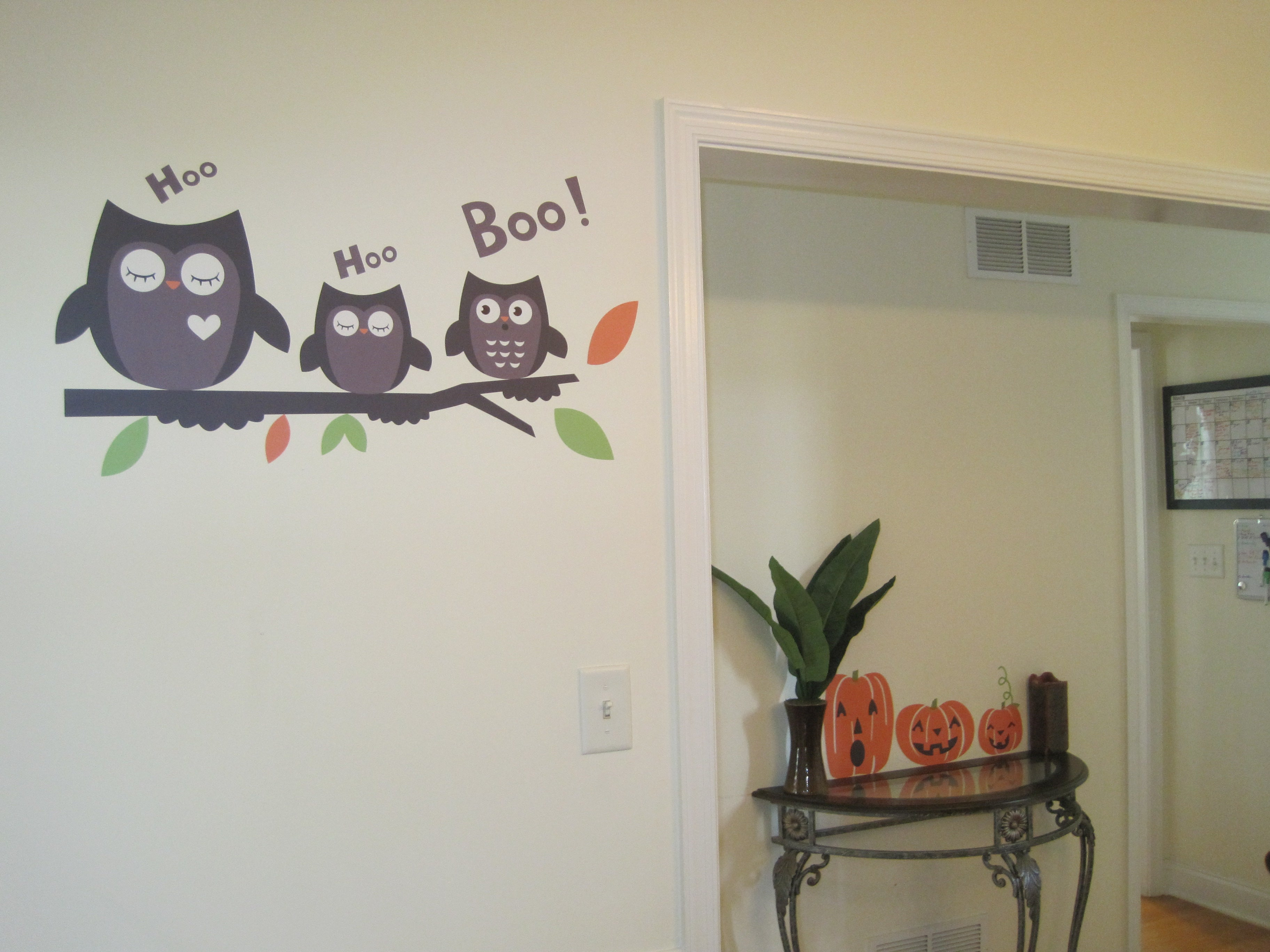 halloween gallery wall decor hallowen walljpg functional wall decor  blog halloween decals functional wall decor
