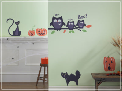 Halloween wall decals by weeDECOR