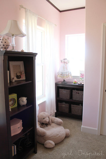 Pale Pink and Brown Classic Nursery