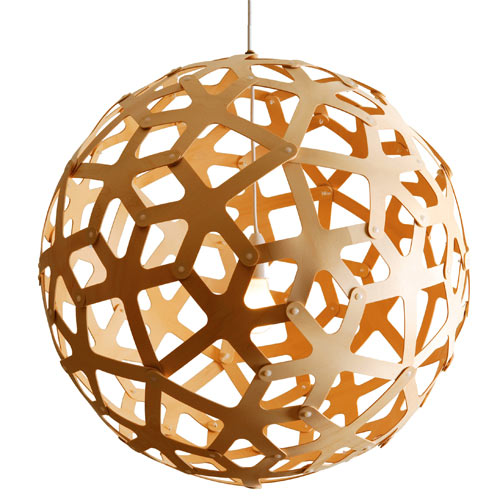 Natural Pendant Nursery Light