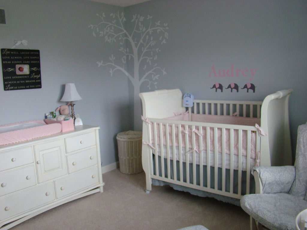Pale Pink and Grey Nursery