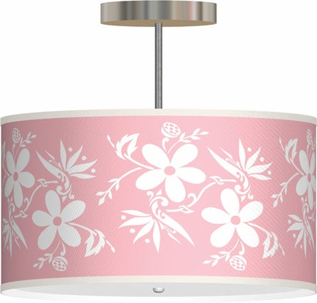 Pink Pendant Baby Room Light from Rosenberry Rooms