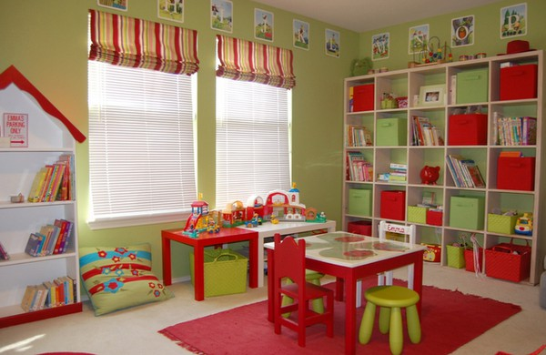 Playroom Decorating Ideas from weeDECOR on Pinterest