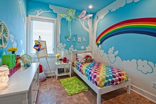 Home decor tagged baby room ideas weedecor for Mural kids room