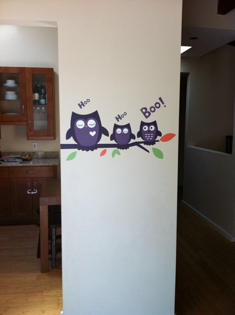 halloween wall stickers. halloween wall decals. halloween decor.