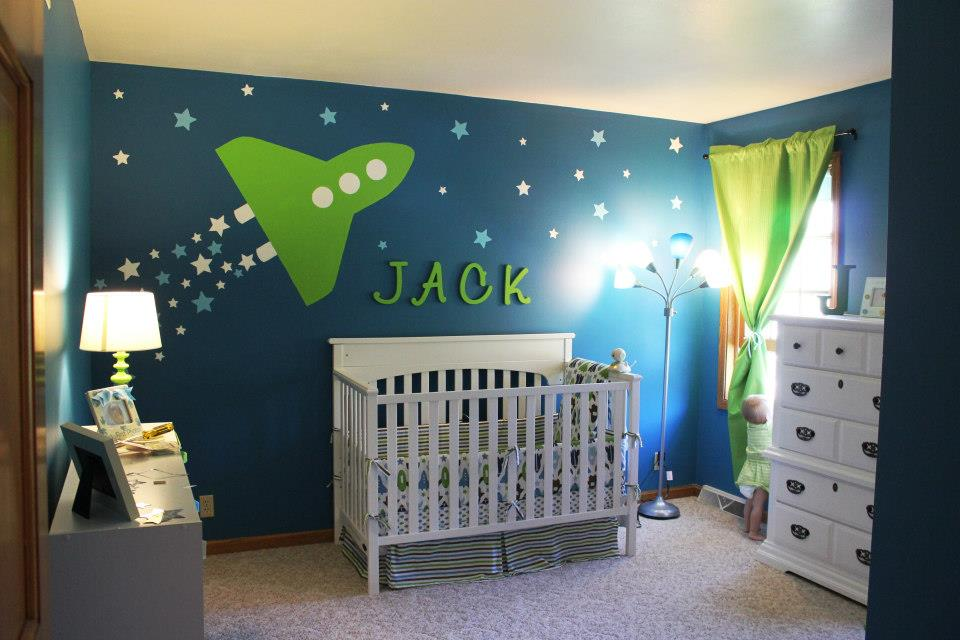 Jack's Space Themed Nursery on Project Nursery