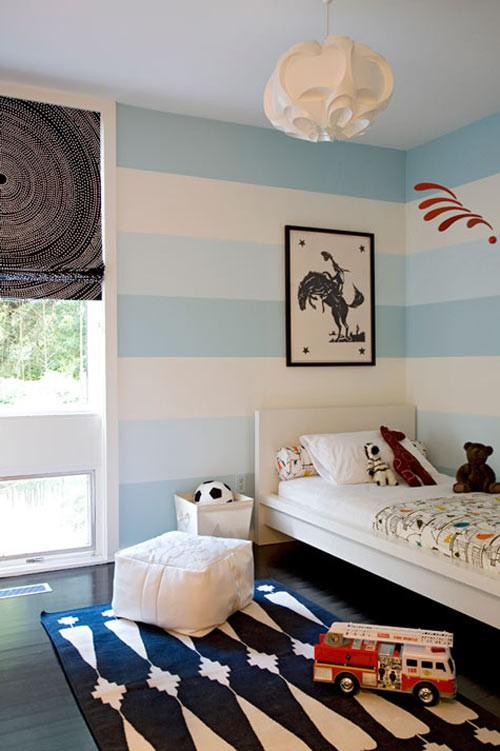 Home decor tagged nursery wall paint weedecor for Painting stripes on walls in kids room