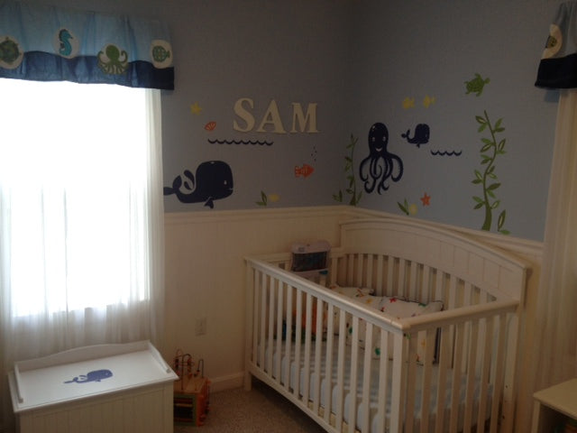Under the Sea Wall Decal Mural from weeDECOR